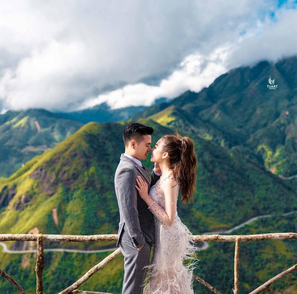 Ảnh cưới long lanh từ Nam ra Bắc của cô dâu Nam Định đeo vàng trĩu cổ, ở lâu đài 7 tầng - Ảnh 6.