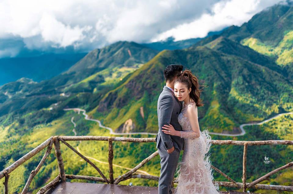Ảnh cưới long lanh từ Nam ra Bắc của cô dâu Nam Định đeo vàng trĩu cổ, ở lâu đài 7 tầng - Ảnh 5.