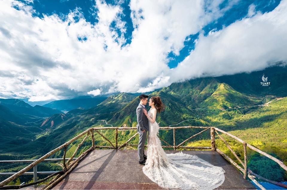 Ảnh cưới long lanh từ Nam ra Bắc của cô dâu Nam Định đeo vàng trĩu cổ, ở lâu đài 7 tầng - Ảnh 4.