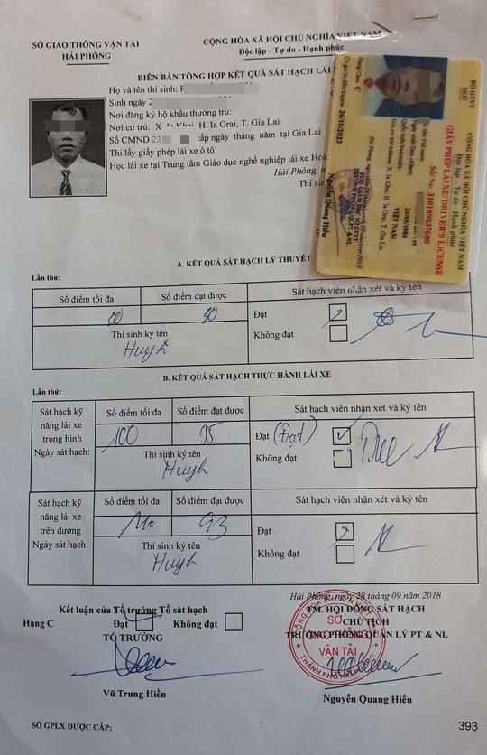 """Rà soát vụ gần 40 người Gia Lai thi bằng lái ô tô """"cấp tốc"""" tại Hải Phòng - Ảnh 1."""