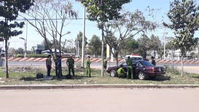 Công an Bình Phước thông tin chính thức vụ xe của cán bộ kiểm lâm nghi bị gài quả nổ - Ảnh 1.