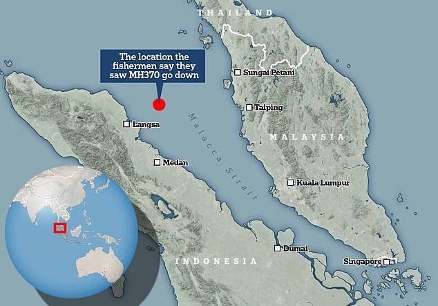 Ngư dân khẳng định nhìn thấy MH370 bốc khói đen, lao xuống eo biển Malacca - Ảnh 3.