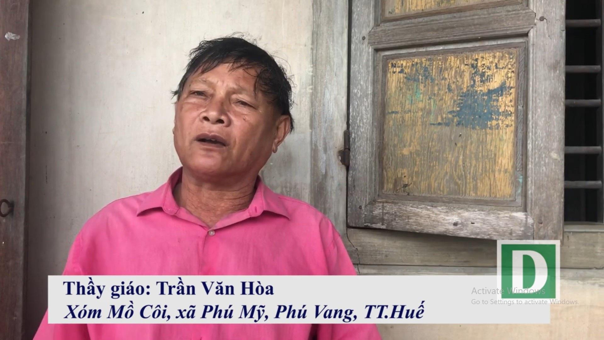 """Người thầy U80 """"chở chữ"""" miễn phí cho người dân sông nước Phú Vang - Ảnh 5."""