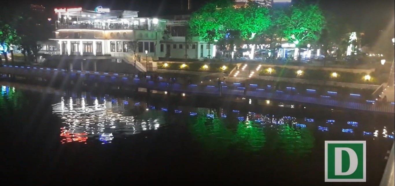 Thích thú với đường đi bộ bên sông Hương tuyệt đẹp về đêm - Ảnh 5.