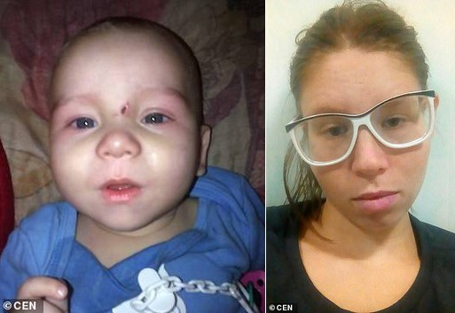 Bé 8 tháng tuổi tử vong vì mẹ cho uống rượu vodka ép ngủ - Ảnh 1.
