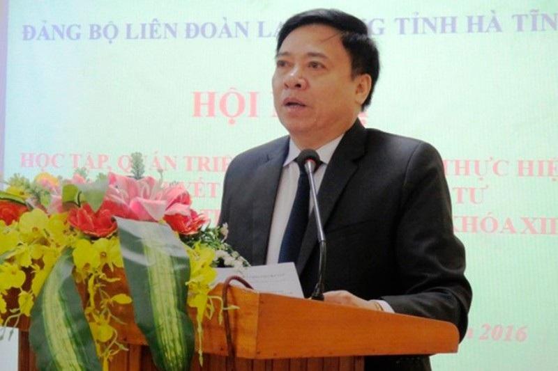 Kỷ luật Phó trưởng Ban Nội chính Tỉnh ủy Hà Tĩnh - Ảnh 1.