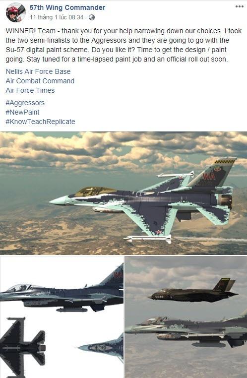 """Vì sao Mỹ tính """"cải trang"""" máy bay F-16 giống Su-57 của Nga? - Ảnh 2."""