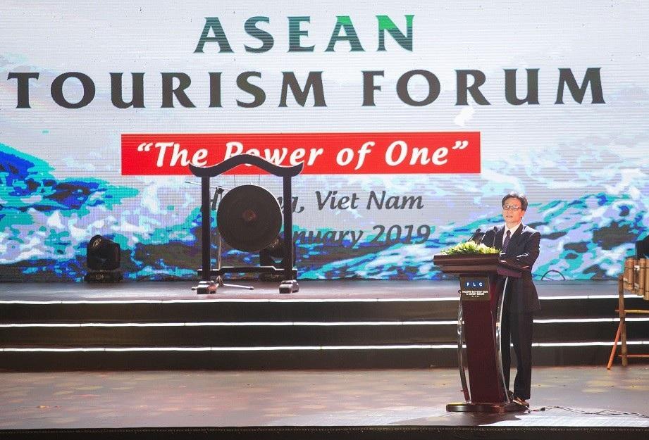 Phó thủ tướng Vũ Đức Đam dự Khai mạc Diễn đàn Du lịch ASEAN 2019 - Ảnh 1.