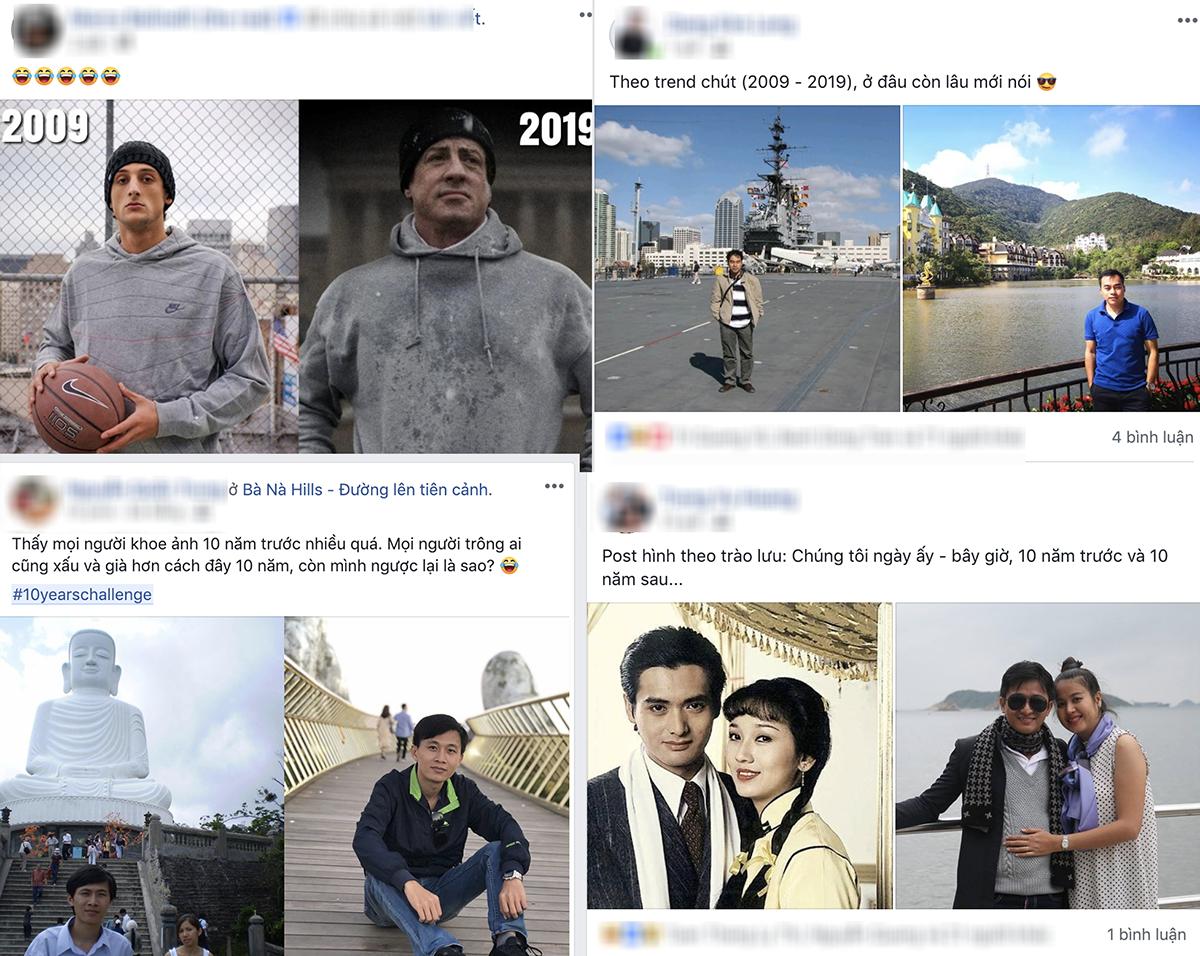 Trào lưu khoe ảnh 10 năm trước gây sốt Facebook tại Việt Nam - Ảnh 1.