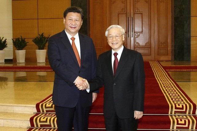 Lãnh đạo Việt - Trung điện mừng 69 năm hai nước thiết lập quan hệ ngoại giao - Ảnh 1.