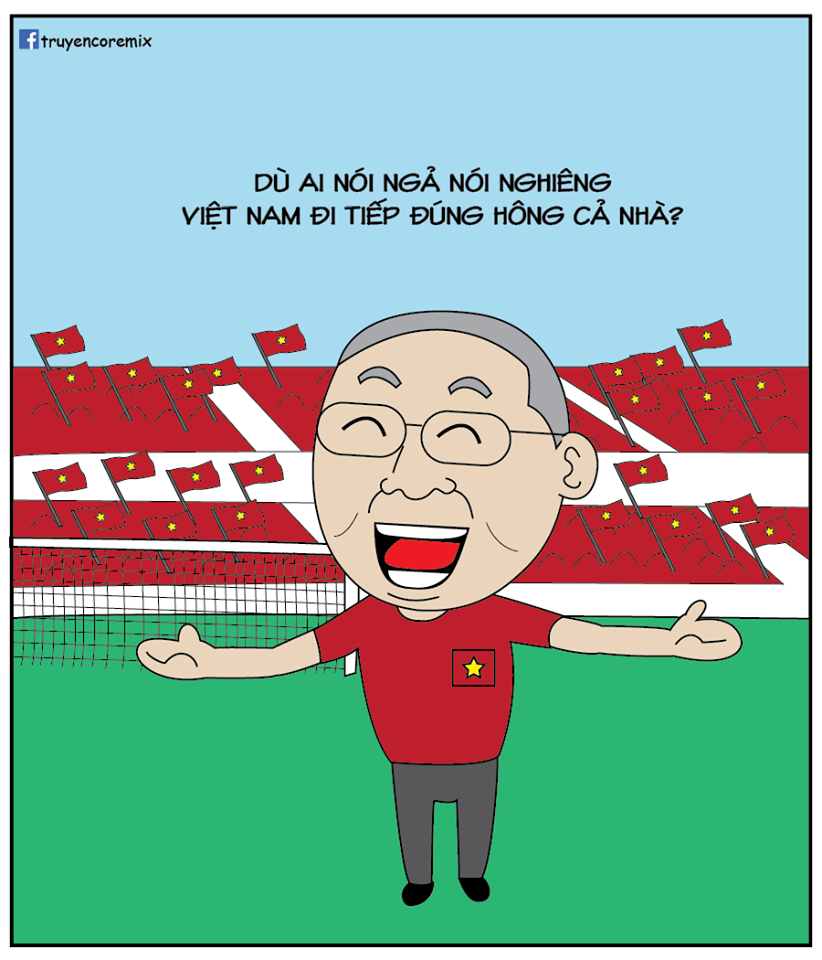 """Loạt ảnh chế hài hước của dân mạng sau khi tuyển Việt Nam """"lách qua khe cửa hẹp"""" - Ảnh 11."""
