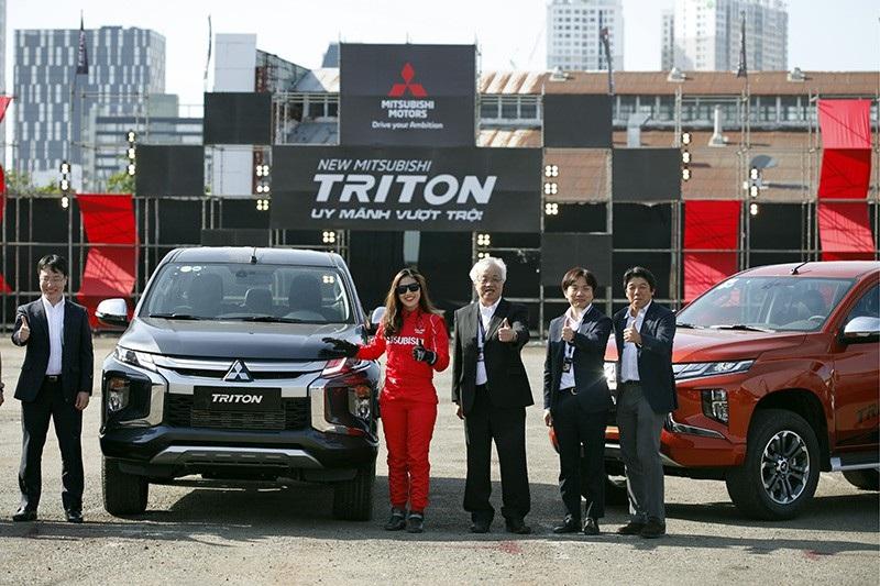 Mitsubishi Triton 2019 ra mắt tại Việt Nam, giá từ 730,5 triệu đồng - Ảnh 1.