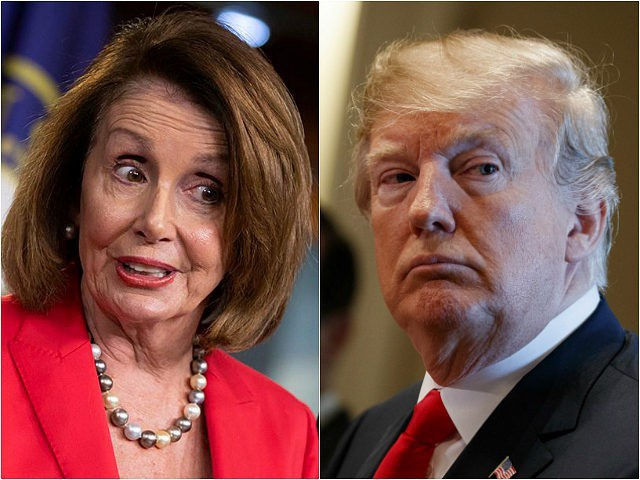 Bị từ chối đàm phán, ông Trump ngăn Chủ tịch Hạ viện công du nước ngoài - Ảnh 1.
