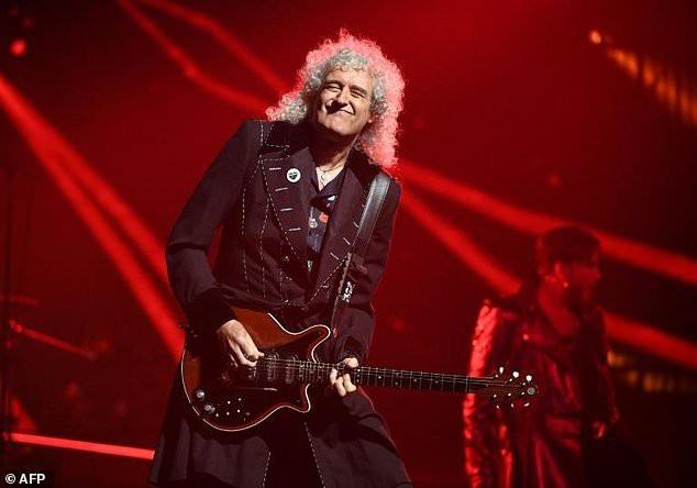 Nghệ sĩ ghita huyền thoại, thành viên của nhóm nhạc Queen - Brian May