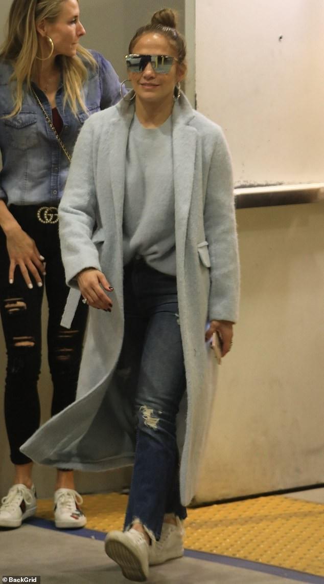 Thân hình săn chắc đáng ngưỡng mộ của Jennifer Lopez - Ảnh 5.