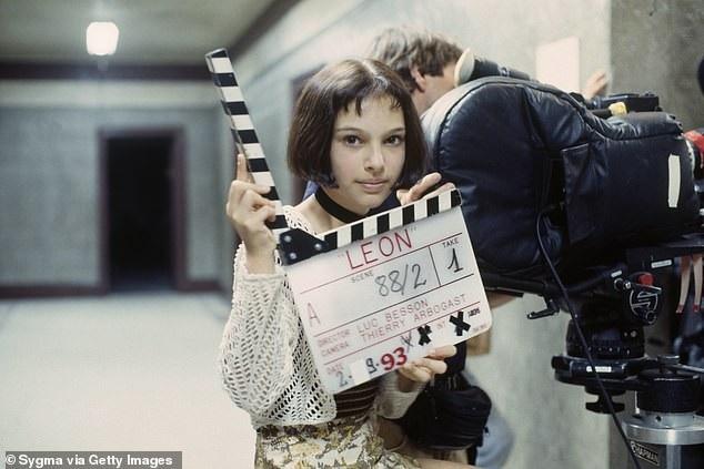 "Natalie Portman trên phim trường ""Leon: The Professional"" (1994)"