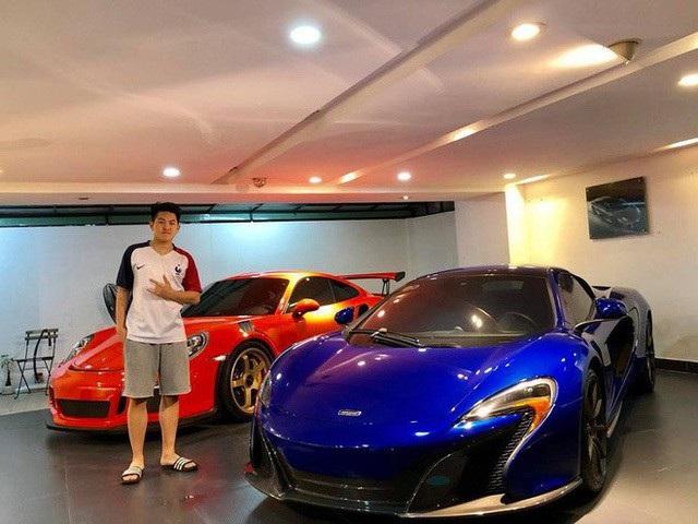 Một góc hầm xe với hai chiếc xe yêu thích hiện nay của Cường Đô la