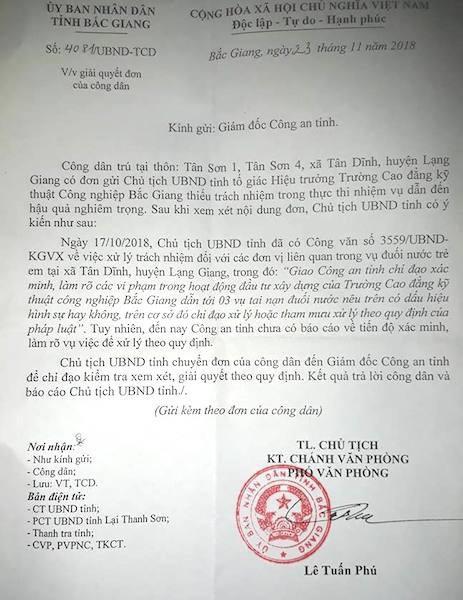 3 cháu bé chết đuối oan ức tại Bắc Giang: Khởi tố hay không khởi tố vụ án? - Ảnh 1.