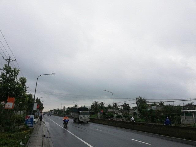 Thời tiết ở Bạc Liêu ngày 3/1 trời u ám, có gió, mưa rải rác kéo dài.