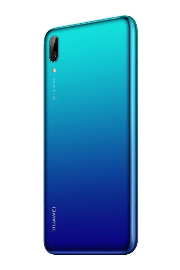 Huawei Y7 Pro 2019 kế thừa thiết kế hiện đại của dòng flagship
