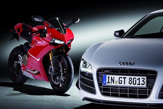 Audi mua lại Ducati từ năm 2012.