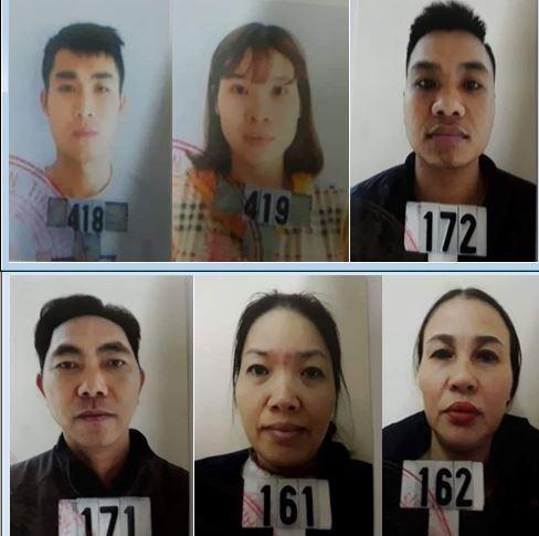Các đại lý cấp dưới trong đường dây đánh bạc bằng hình thức lô đề cho Nguyễn Xuân Hùng cầm đầu.