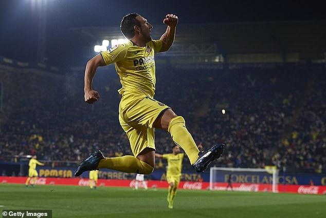 Niềm vui của Cazorla với cú đúp ấn tượng vào lưới Real Madrid