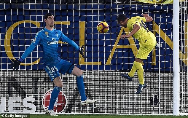 Cazorla ấn định kết quả hòa 2-2 chung cuộc của trận đấu