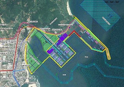 Quy hoạch Dự án Cảng Liên Chiểu chi tiết 1/500