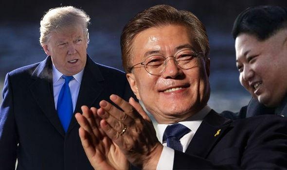 Triều Tiên đe dọa có thể phải tìm một cách thức mới để bảo vệ lợi ích của riêng mình nếu Mỹ tiếp tục can thiệp vào quan hệ liên Triều và áp lệnh trừng phạt lên nước này. (Nguồn: Daily Express)