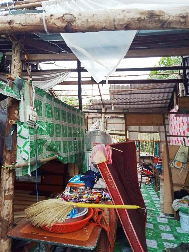 Cảnh tan hoang ở vùng ven biển Bạc Liêu sau lốc xoáy, mưa lớn - 9