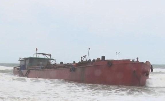 Các thuyền viên trên tàu gặp nạn được cứu an toàn. Ảnh minh họa.