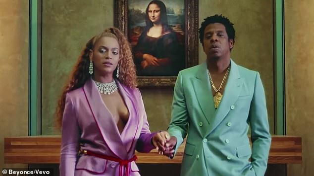 Beyonce và Jay-Z trong MV quay tại bảo tàng Louvre