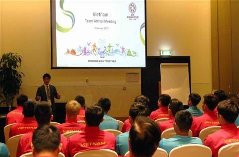 Đội tuyển Việt Nam đã có buổi họp quan trọng với đại diện Liên đoàn bóng đá châu Á (AFC)