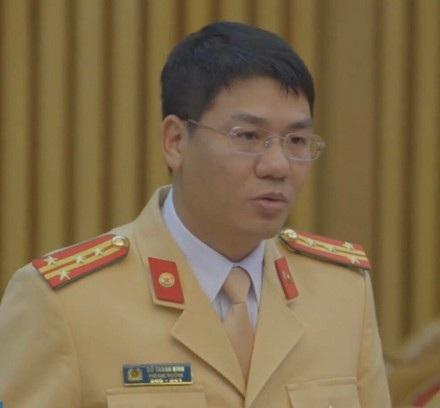 Đại tá Đỗ Thanh Bình, Cục phó Cục CSGT.