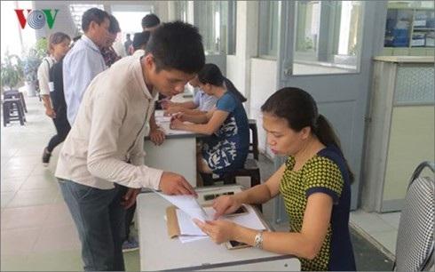 Thí sinh đăng ký xét tuyển vào ĐH Bách Khoa Hà Nội.
