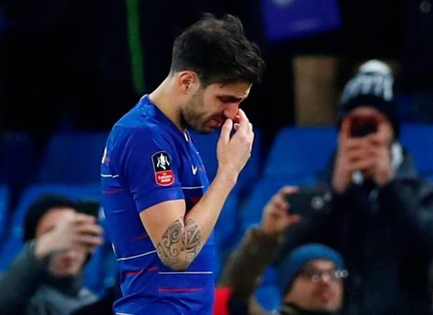 Fabregas rơi lệ chia tay CĐV Chelsea