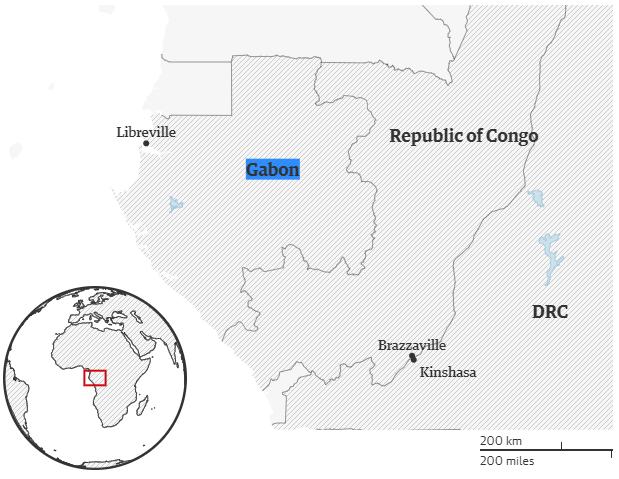 Tổng thống chữa bệnh ở nước ngoài, quân đội Gabon đảo chính bất thành - Ảnh 3.