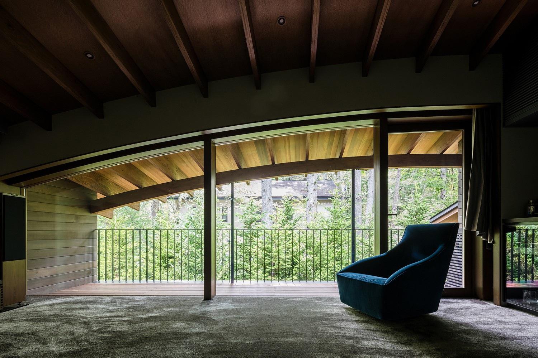 """Biệt thự hình """"4 chiếc lá rơi"""" đẹp như mơ của kiến trúc sư Nhật Bản - Ảnh 7."""