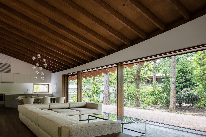"""Biệt thự hình """"4 chiếc lá rơi"""" đẹp như mơ của kiến trúc sư Nhật Bản - Ảnh 8."""