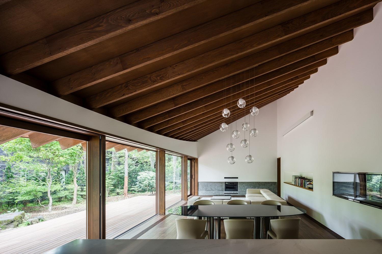 """Biệt thự hình """"4 chiếc lá rơi"""" đẹp như mơ của kiến trúc sư Nhật Bản - Ảnh 5."""