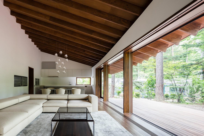 """Biệt thự hình """"4 chiếc lá rơi"""" đẹp như mơ của kiến trúc sư Nhật Bản - Ảnh 3."""