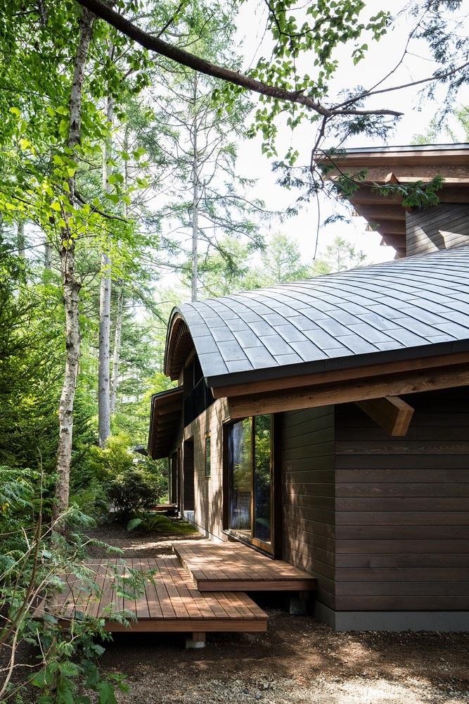 """Biệt thự hình """"4 chiếc lá rơi"""" đẹp như mơ của kiến trúc sư Nhật Bản - Ảnh 12."""