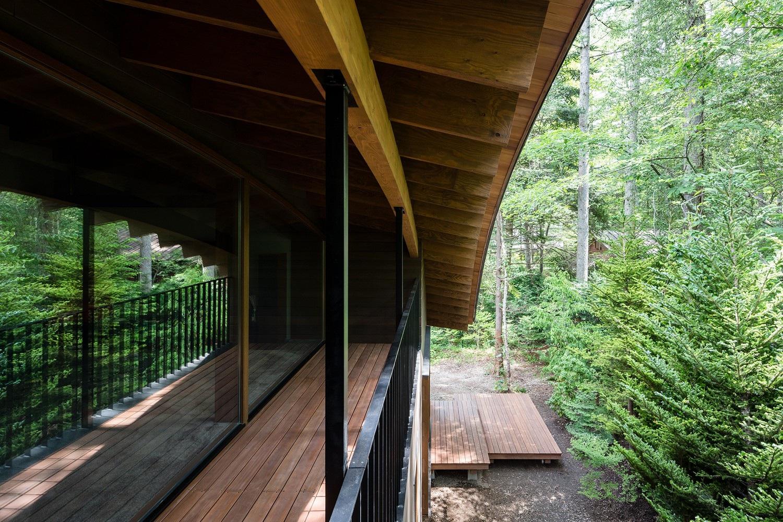 """Biệt thự hình """"4 chiếc lá rơi"""" đẹp như mơ của kiến trúc sư Nhật Bản - Ảnh 11."""