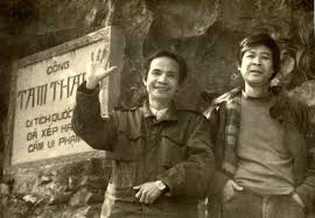 Nguyễn Trọng Tạo- Nguyễn Thụy Kha thời trẻ.