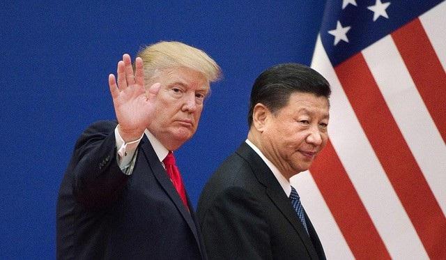 Tổng thống Donald Trump (trái) và Chủ tịch Tập Cận Bình (Ảnh: AFP)