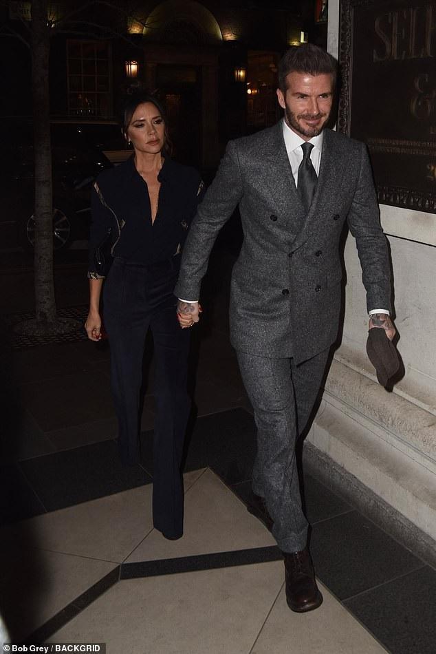 Vợ chồng Beckham đẹp đôi dự tiệc - Ảnh 5.