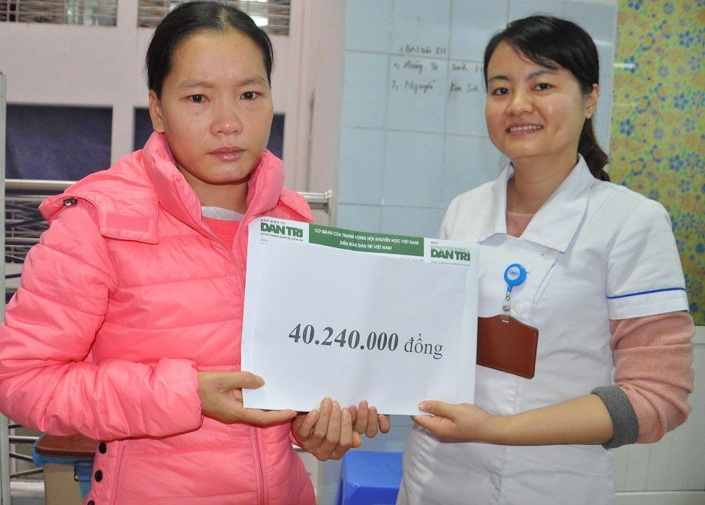 Hơn 40 triệu đồng đến với chị Lê Thị Xuân bị bệnh tim - Ảnh 2.