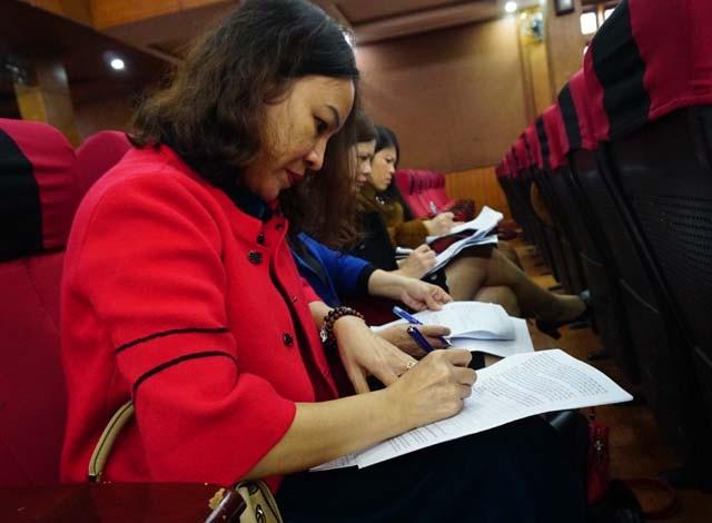 Giáo viên, cán bộ quản lý 17 tỉnh phía Bắc góp ý chỉnh lý Luật Giáo dục sửa đổi - Ảnh 3.