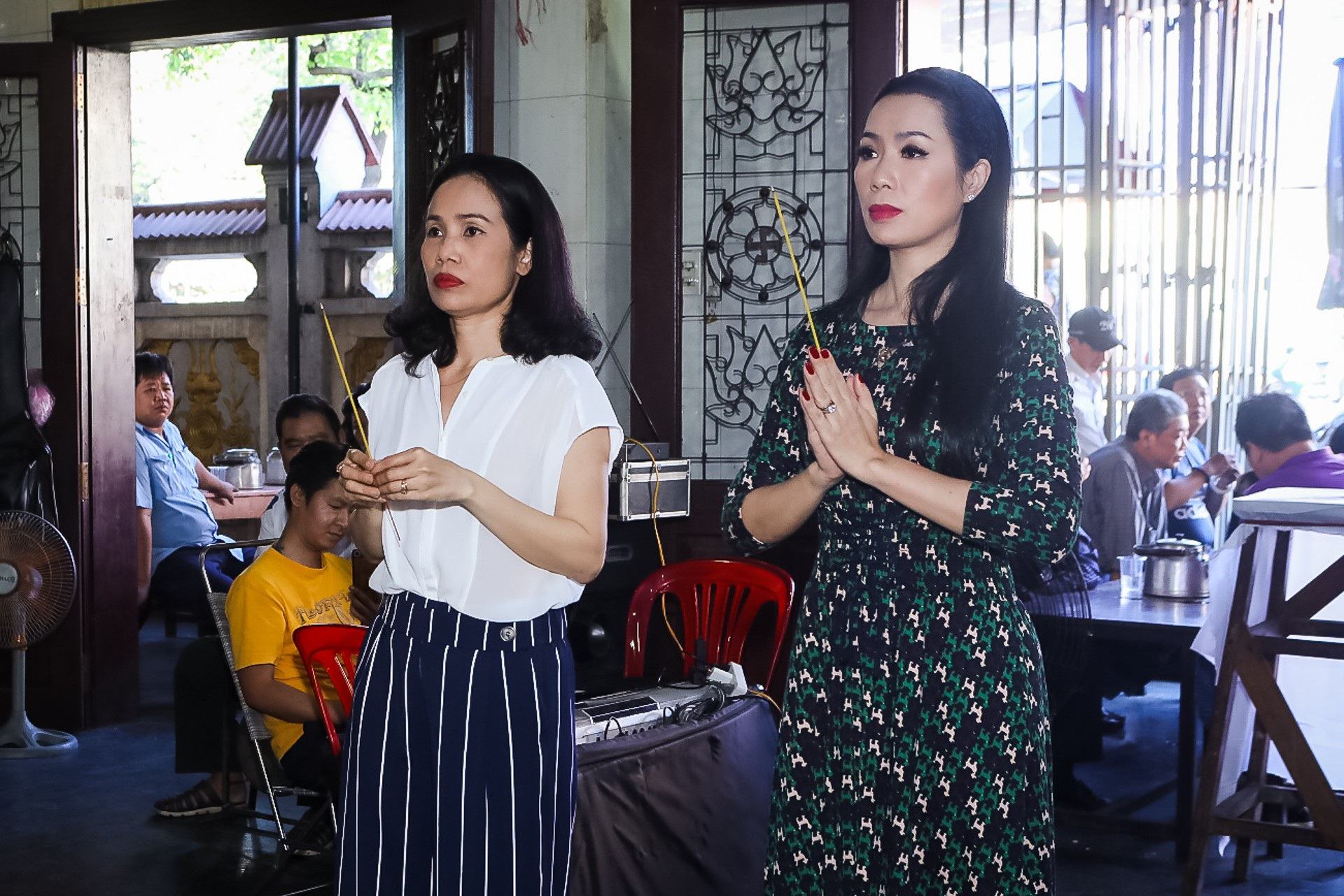 Kim Xuân, Quyền Linh, Anh Đức… xúc động khi đến viếng diễn viên Mạnh Tràng - Ảnh 13.